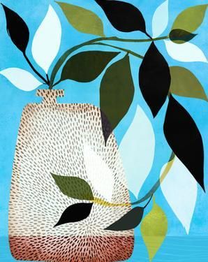 Ivy And Blue Sky by Modern Tropical
