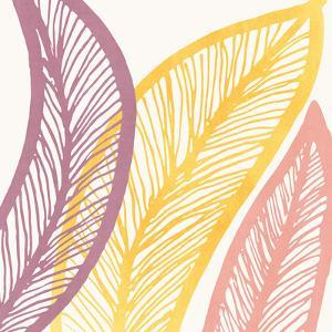Large Leaf Study Ii by Modern Tropical