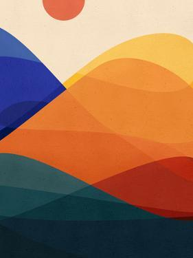 Meditative Mountains by Modern Tropical