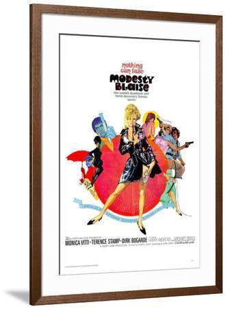 Modesty Blaise--Framed Poster
