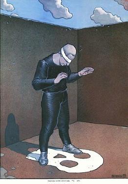 Images pour la lutte contre le sida by Moebius (Jean Giraud)