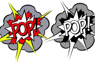 Cartoon Explosion Pop-Art Style by moenez