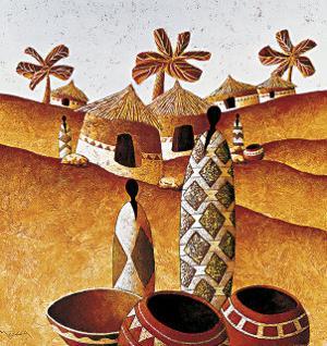 Peuple des sables by Moga