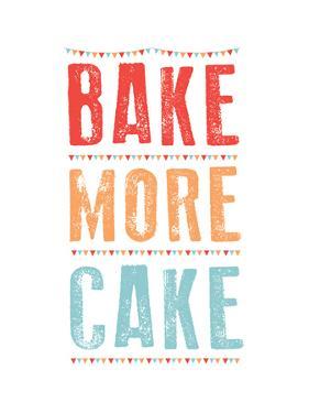 Bake More Cake by Moha London