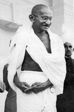 Mohondas Karamchand Gandhi (1869-194), Indian Nationalist Leader