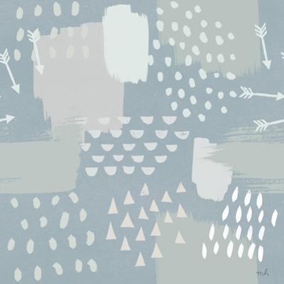 Calm World Map Pattern XI by Moira Hershey