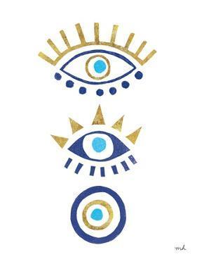 Evil Eye I by Moira Hershey
