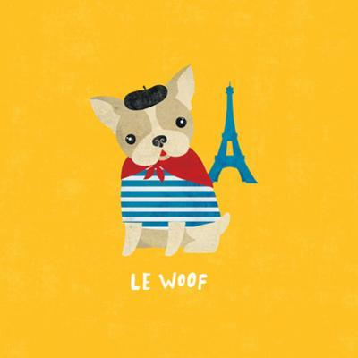 Good Dogs French Bulldog Bright by Moira Hershey