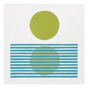Reflection I Green by Moira Hershey