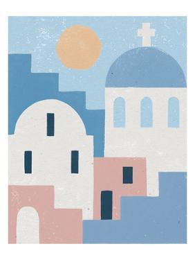 Santorini Summer I by Moira Hershey