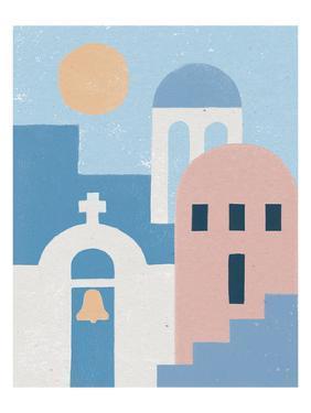 Santorini Summer II by Moira Hershey