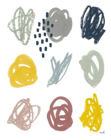 Scribble II by Moira Hershey