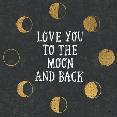 To the Moon Black by Moira Hershey