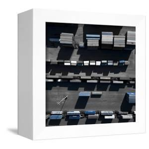 Blue Boxes 5 by Moises Levy