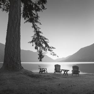 Crescent Lake I by Moises Levy