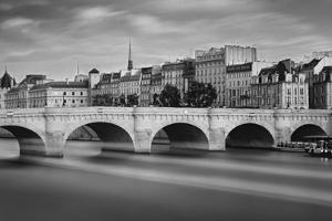 Paris River by Moises Levy