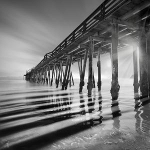 Pier and Shadows by Moises Levy