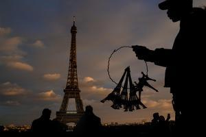 Small Eiffel 2 by Moises Levy