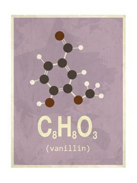 Molecule Vanilin