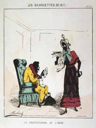 Le Constitutionnel Et L'Union, 1871