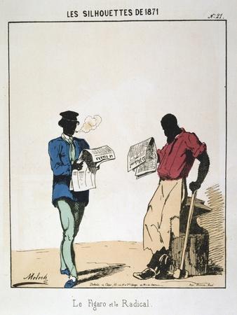 Le Figaro Et Le Radical, 1871