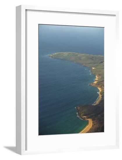 Molokai Coast Line From The Air-Jason Matias-Framed Giclee Print