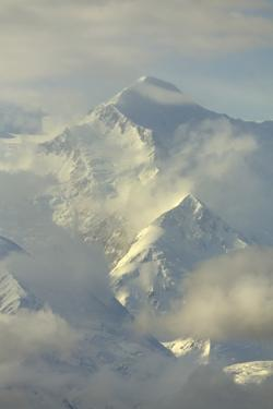 Cumulus Clouds around Mt.Mckinley by Momatiuk - Eastcott