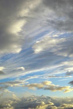 Cumulus Clouds near Mt.Mckinley by Momatiuk - Eastcott