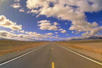 Highway under Big Sky