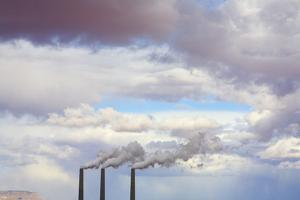 Navajo Generating Station Coal Burning Power Plant by Momatiuk - Eastcott