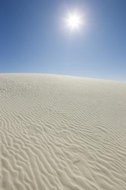 Sun in White Sands National Monument by Momatiuk - Eastcott