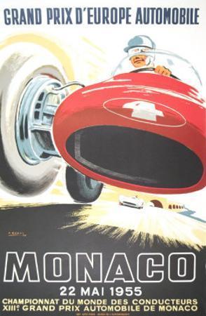 Monaco Grand Prix, 1955
