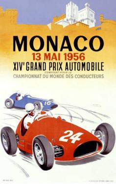 Monaco Grand Prix, 1956 by J Ramel