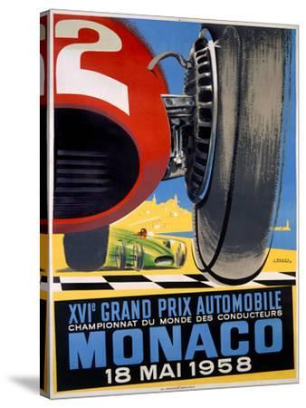 Monaco Grand Prix F1, c.1958 by J Ramel