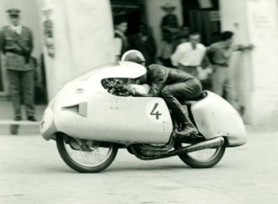 Mondial Motorcycle GP Dustbin