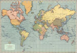 Mondo Moderno (Modern World)- World Map