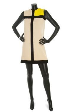 'Mondrian' Dress, Yves Saint Laurent, 1966