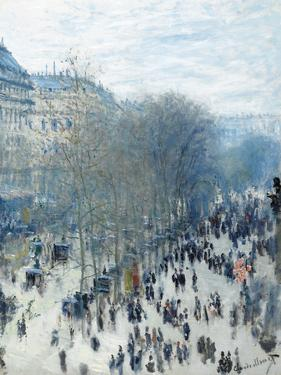 Boulevard Des Capucines - Focus by Monet Claude