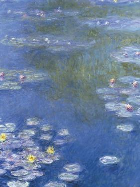 Water Lilies at Giverny - Focus by Monet Claude