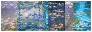 Waterlilies I by Monet Deco