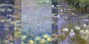 Waterlilies III by Monet Deco