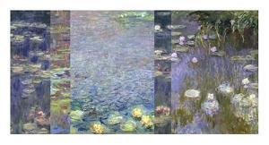 Waterlilies III by Monet Deco