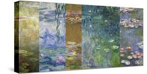 Waterlilies IV by Monet Deco