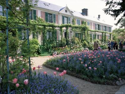 Monet's House and Garden, Giverny, Haute Normandie (Normandy), France by I Vanderharst