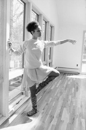 Debbie Allen, Dance Studio 1982 by Moneta Sleet Jr.