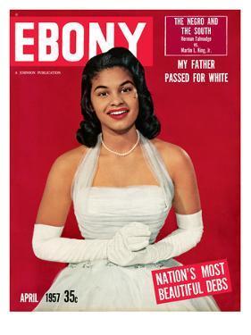 Ebony April 1957 by Moneta Sleet Jr.