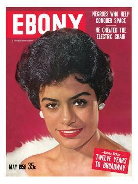 Ebony May 1958 by Moneta Sleet Jr.