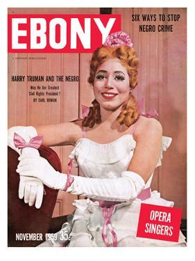 Ebony November 1959 by Moneta Sleet Jr.