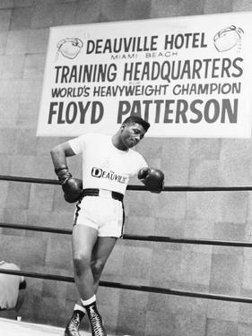 Floyd Patterson by Moneta Sleet Jr.