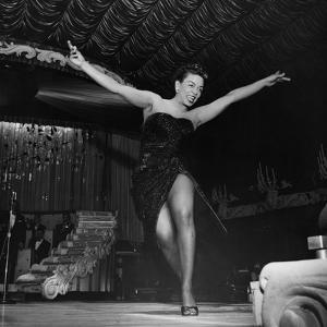 Hazel Scott 1956 by Moneta Sleet Jr.